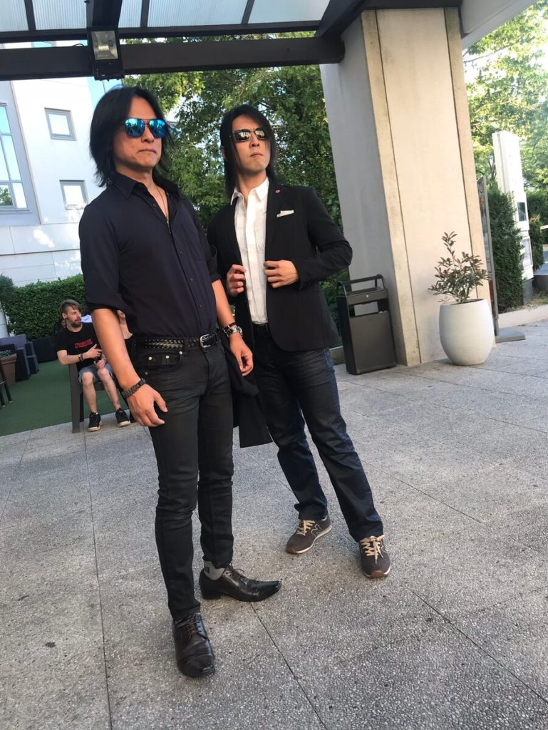 IRON-CHINOとYAMA-B