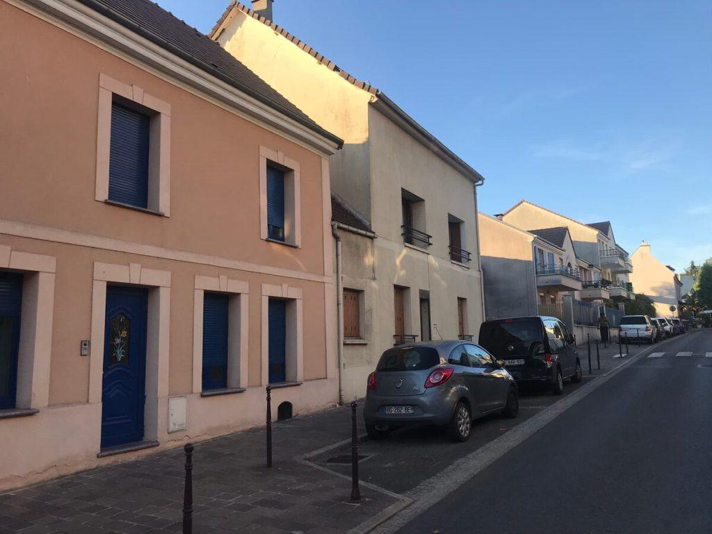 シャルル・ド・ゴールの村の風景