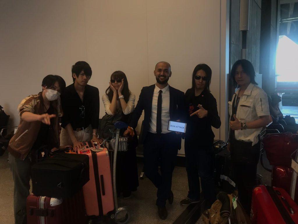 フランスのジャパンエキスポスタッフとIRON ATTCK!