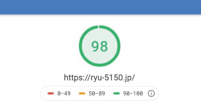5150ホームページ速度アイキャッチ、SEO対策