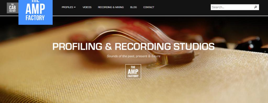 The Amp FactoryのKemper有料rig販売サイトのイメージ