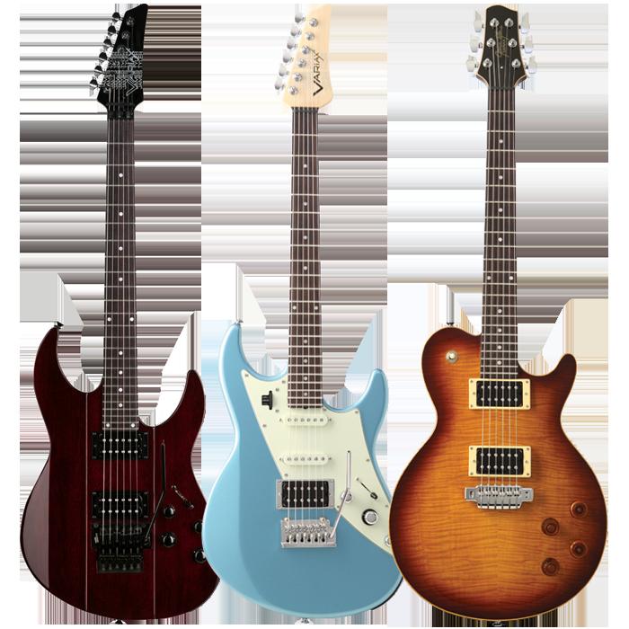ストラトやレスポールを再現可能なモデリングギターVariaxの画像