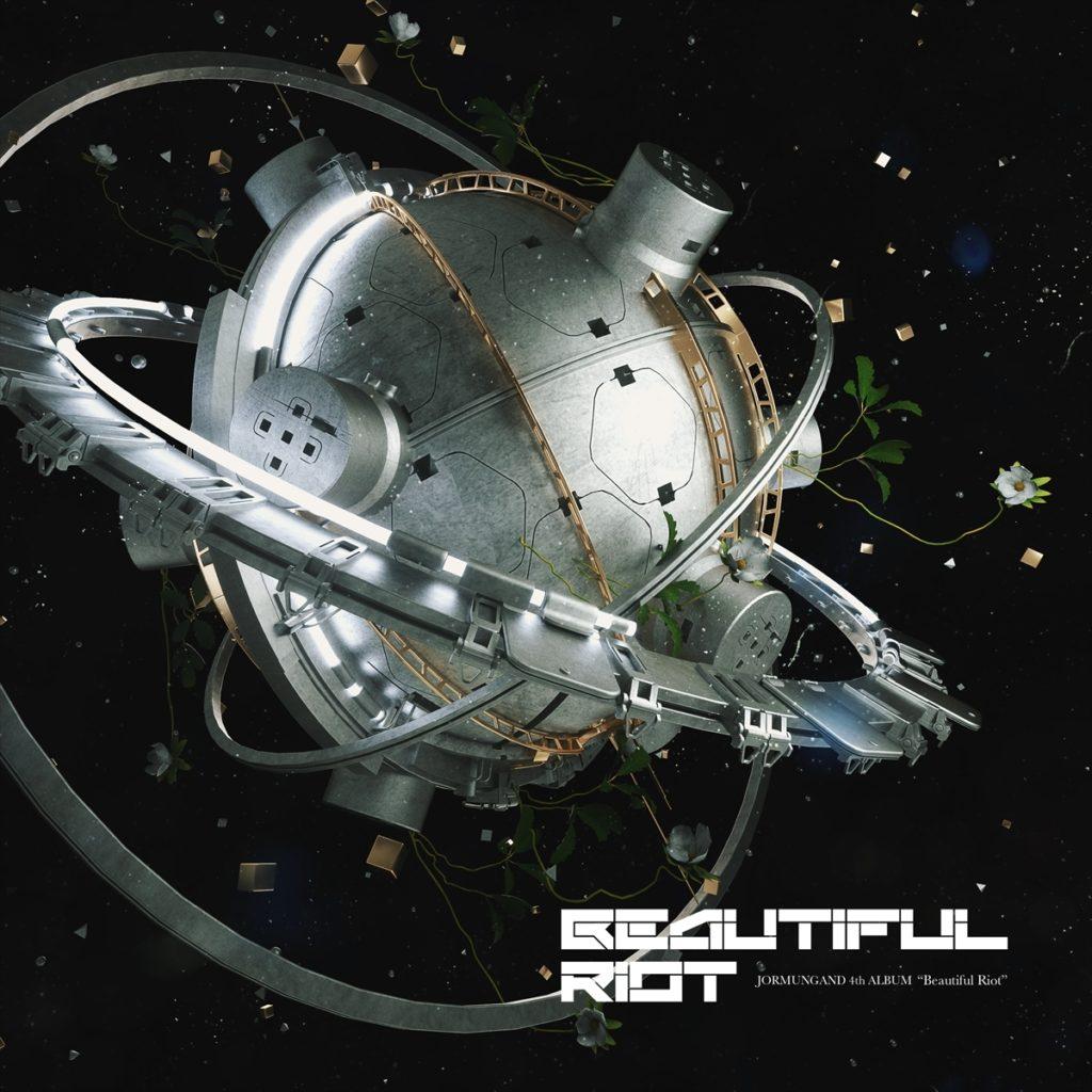 龍5150、JORMUNGANDのCD、Beautiful Riotのジャケット画像